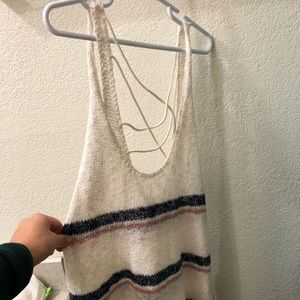 Swimsuit cover up tank
